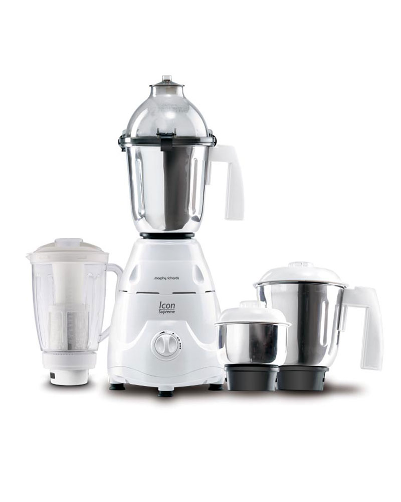 Morphy Richards 750 Watts: Buy Morphy Richards 4 Jars Icon Supreme Mixer Grinder 750